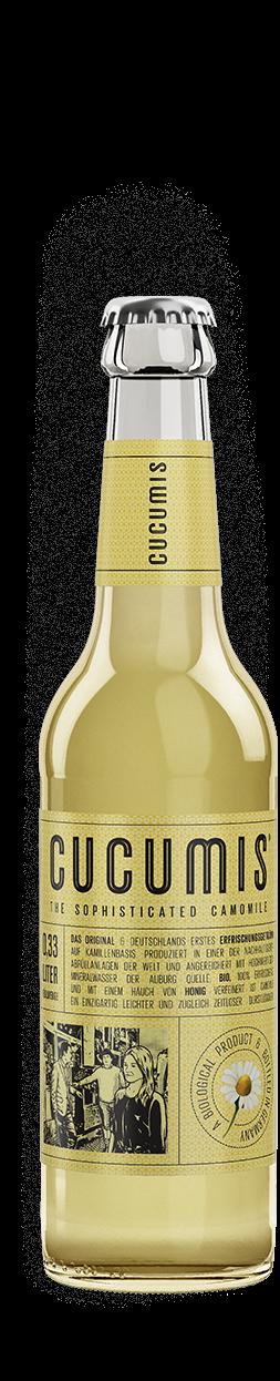 Cucumis ekologisk dryck smaksatt med honung
