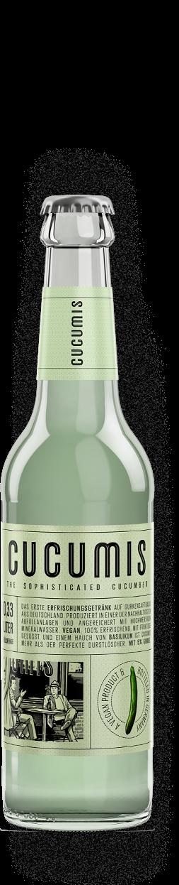 Cucumis ekologisk dryck med gurksmak