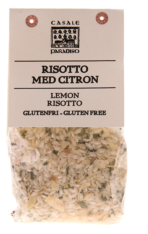 risotto med citron
