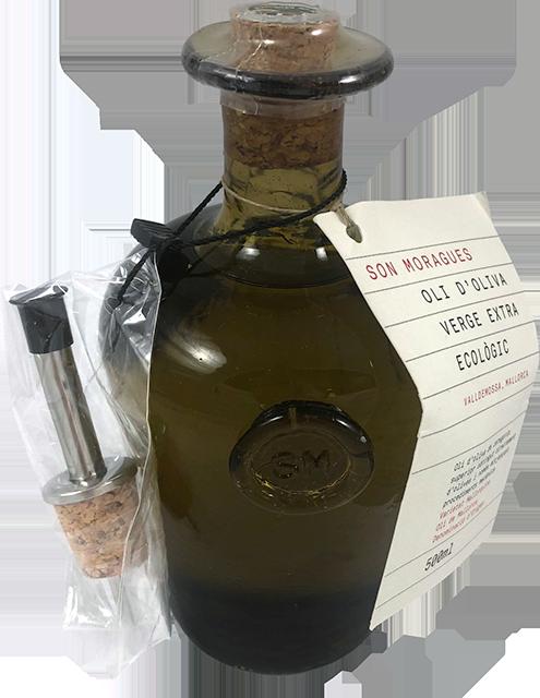 Son moragues - Ekologisk olivolja i exlusiv glasflaska