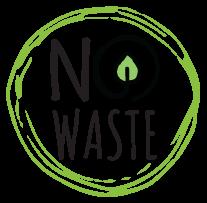 no waste logo- indikerar hållbar ekologisk odling